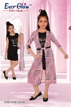 Black Dress & Jacket Layered Set